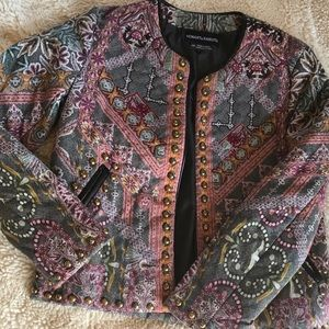 Anthropology Multi Colored Jacket